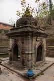 Templo hindú antiguo Nepal de la diosa Fotografía de archivo libre de regalías