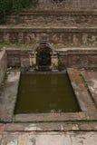 Templo hindú antiguo Nepal de la diosa Foto de archivo