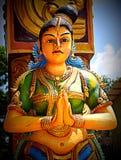 Templo hindú de Arulmigu Sri Muthumari Amman Kovil, Matale, Sri Lanka Fotos de archivo