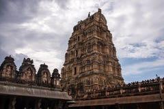 Templo hindú de Hampi Foto de archivo libre de regalías