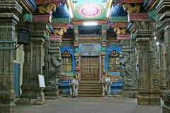 Templo hindú de Meenakshi en Madurai, Tamil Nadu Imagen de archivo