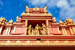 Templo hindú de Seetha Amman fotos de archivo