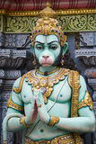Templo hindú de Sri Krishnan - Singapur Fotografía de archivo