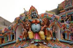 Templo hindú de Trincomalee en Sri Lanka foto de archivo