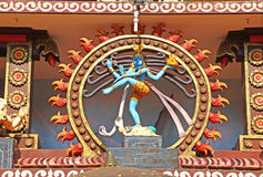 Templo hindú Elemento arquitectónico Fotografía de archivo libre de regalías
