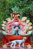 Templo hindú Elemento arquitectónico Fotos de archivo