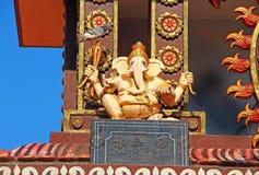 Templo hindú Elemento arquitectónico ganesha Fotos de archivo libres de regalías