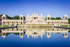 Templo hindú en Atlanta Fotos de archivo libres de regalías