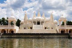 Templo hindú en Atlanta, GA foto de archivo libre de regalías