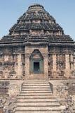 Templo hindú en Konark fotografía de archivo libre de regalías