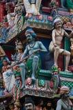 Templo hindú en Singapur Imagen de archivo libre de regalías