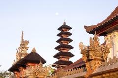 Templo hindú, ful lunes, Nusa Penida, Indonesia de las pagodas del ingenio Fotografía de archivo