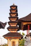 Templo hindú, ful lunes, Nusa Penida, Indonesia de las pagodas del ingenio Imagenes de archivo