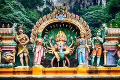 Templo hindú, Kuala Lumpur - Malasia foto de archivo libre de regalías