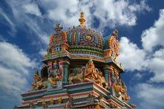 Templo hindú, la India del sur, Kerala Fotos de archivo