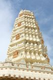 Templo hindú que destella en el Sun Imagen de archivo libre de regalías