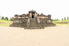 Templo hindú Sambisari - parte central foto de archivo