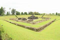 Templo hindú Sambisari - toda la visión fotografía de archivo libre de regalías
