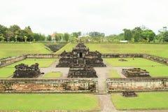 Templo hindú Sambisari - vista delantera imágenes de archivo libres de regalías