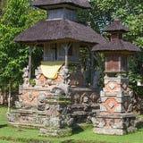 Templo hindu, Bali, Indonésia Imagens de Stock