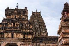 Templo hindu de Hampi Fotografia de Stock Royalty Free
