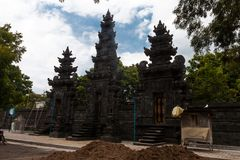 Templo hindu do Balinese Foto de Stock