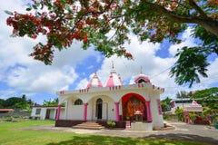 Templo hindu em Port Louis, Maurícias Imagem de Stock Royalty Free