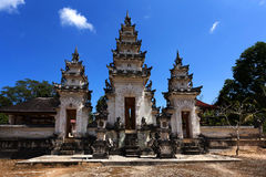 Templo hindu em Pura Sahab, Nusa Penida, Bali, Indonésia imagem de stock royalty free