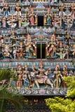 Templo Hindu em singapore fotografia de stock royalty free