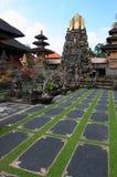 Templo hindu Pura TamanSaraswati em Ubud Bali Fotografia de Stock Royalty Free