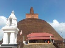 Templo histórico en Sri Lanka fotografía de archivo libre de regalías