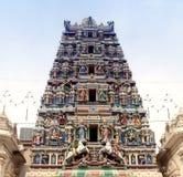 Templo indiano com deuses hindu Imagem de Stock