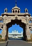 Templo indiano em Gujrat - Jain Fotografia de Stock