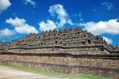Templo Indonesia de Borobudur Fotografía de archivo