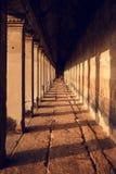 Templo interior Imágenes de archivo libres de regalías