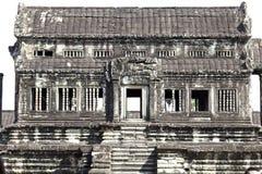 Templo interno de Angkor Wat Imagem de Stock Royalty Free