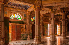 Templo Jain de Bhandasar imagen de archivo