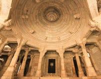Templo Jain de Dilwara Imágenes de archivo libres de regalías