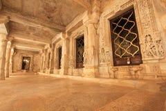 Templo Jain de Dilwara Foto de archivo libre de regalías