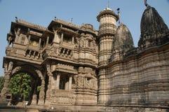 Templo jain de Hatheesinh, ahmadabad Fotografia de Stock Royalty Free