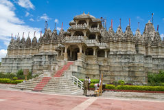 Templo Jain em Ranakpur Fotografia de Stock