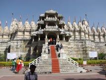 Templo Jain la India Fotografía de archivo