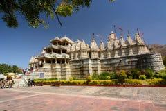 Templo Jain Ranakpur Rajasthán La India Imágenes de archivo libres de regalías