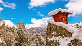 Templo Japón de la montaña metrajes
