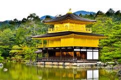 Templo Japón del oro Fotografía de archivo libre de regalías
