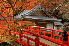 Templo japonés Fotografía de archivo libre de regalías