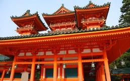 Templo japonés Fotos de archivo libres de regalías