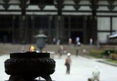 Templo japonés Imagen de archivo libre de regalías