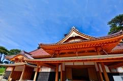 Templo japonés en verano Fotos de archivo libres de regalías