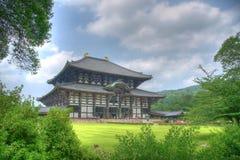 Templo japonés grande Fotos de archivo